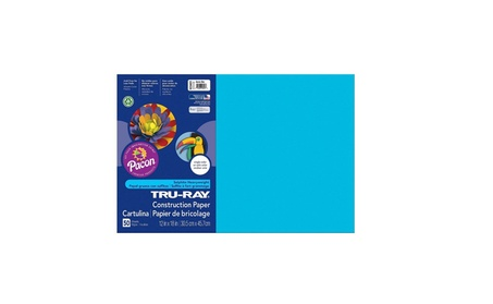 Pacon PAC103401 Tru Ray Atomic Blue 12 x 18 Fade Resistant 231595a3-06cb-47bb-9ca7-f3d5d0496d82