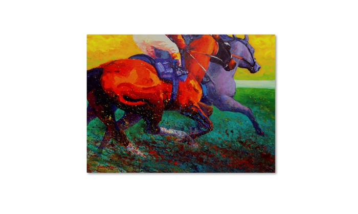 up to 73 off on marion rose stretch canvas art groupon goods