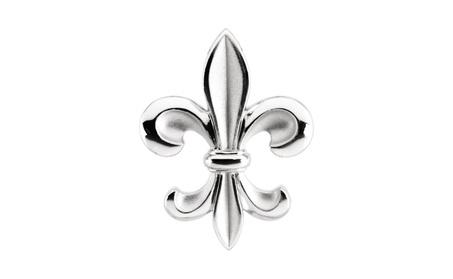 Sterling Silver Fleur-de-lis Pendant be6e7b43-5c80-4cc7-a9b8-d7cdad939582