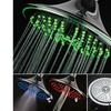 DreamSpa 8-Inch Color Changing 5 Setting LED Rainfall Showerhead