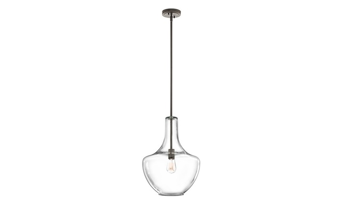 Kichler Lighting Everly 1 Light Pendant Olde Bronze 42046OZCS
