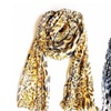 Cheetah Animal Style Semi-Sheer Scarf Wrap