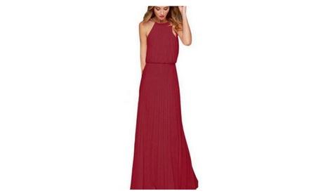 Women Chiffon Dress Elegant Off the Summer Long Dresses 2cd7e49c-0302-4fb1-a3b7-ea70e240f265