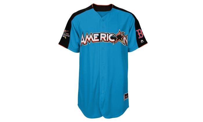 new product 1a6fc f257e Men American League Mookie Betts AllStar Game Run Derby ...