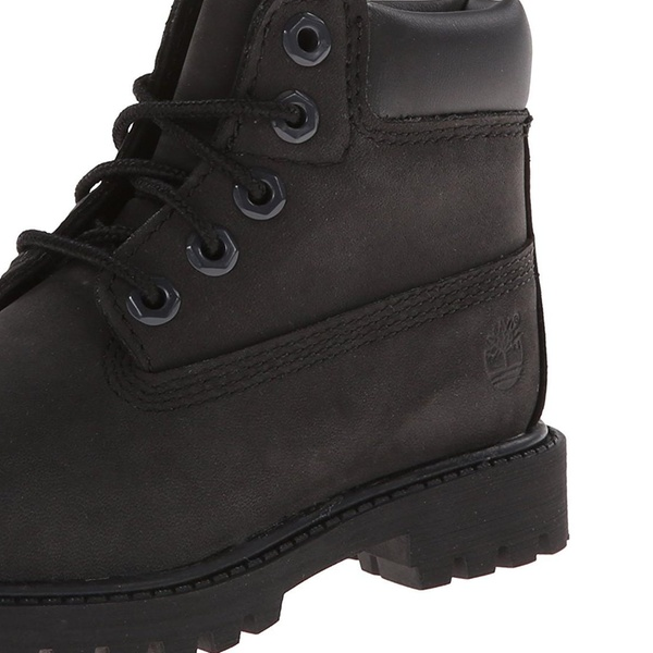 Timberland 6 Inch Premium Waterproof K Boot Black Nubuck 5 M Big Kid