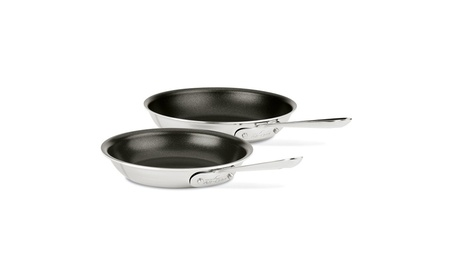 All-Clad Stainless Steel Nonstick 8-Inch and 10-Inch Fry Pan Set, 7c82849d-6d1c-437c-b044-2aebbf86766f
