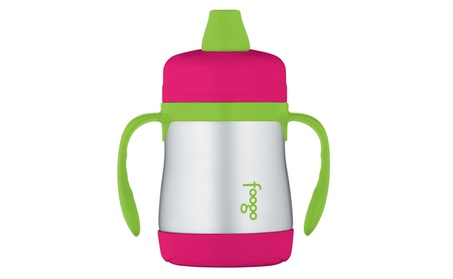 Thermos Foogo Vacuum Insulated Stainless Steel Soft Spout Sippy Cup 3d39474e-1ccc-490e-869b-36c7213e18d7