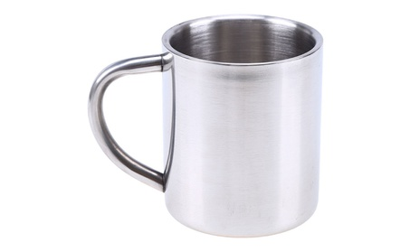 Stainless Steel Double Wall Layer Insulation Coffee Mug 22880221-5833-4766-8130-fc590c9bf625