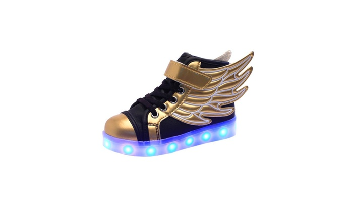 Men's Low Heel Casual LED Fashion Sneakers