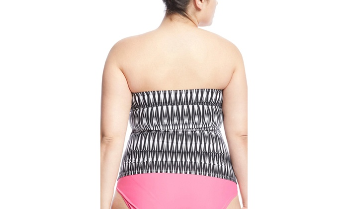 aa92852c5c SPANX Slimming Sweetheart Loop Tankini | Groupon