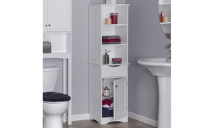 Ashland Tall Cabinet in White or Gray