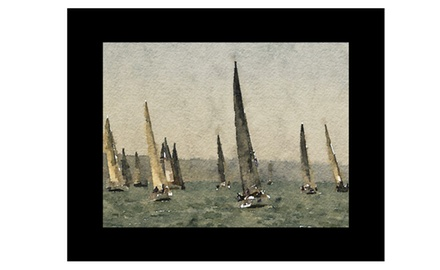 A perfect weekend for a sail- Fine art