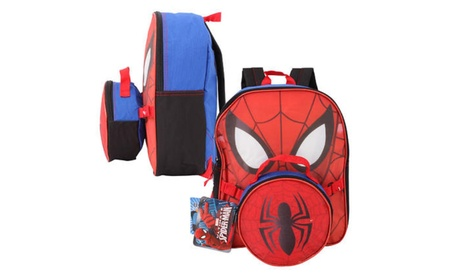 "Spider-Man Mini Backpack with Lunch Bag - 12.5""H 304e19b5-b35e-48f6-9a25-2af593023bf7"