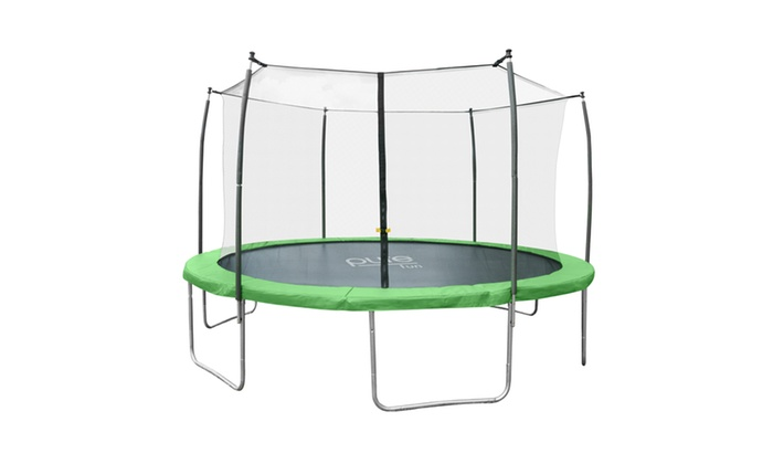 Pure Fun Dura Bounce 12ft Trampoline With Enclosure Groupon