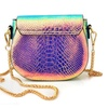 Colorful Alligator Discoloration Cross body Bags for Women