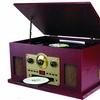 Sylvania SRCD838 5-In-1 Nostalgic Turntable (Manufacturer Refurbished)