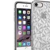 For Apple iPhone 6 Plus/6s Plus Clear Diamond Textured Design Hard TPU Case