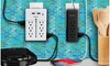 Aduro Surge Protector Wall Charging Towers with 9 or 12 Outlets & Dual USB Ports