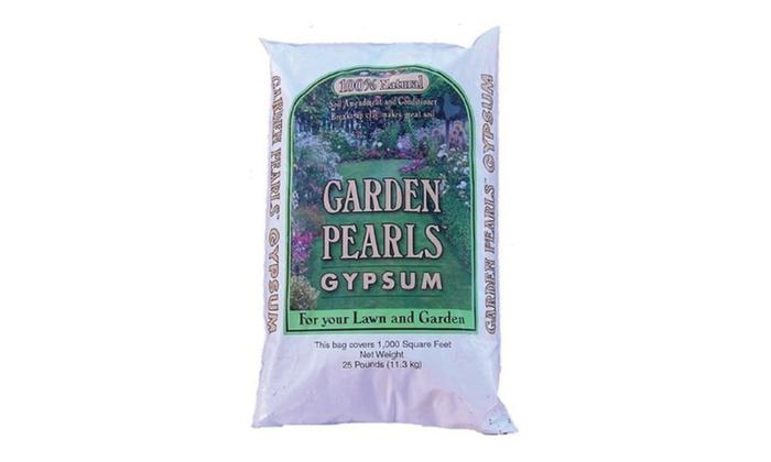 columbia river carbonates 10799 25 lbs garden pearls gypsum - Garden Gypsum