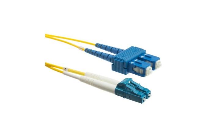 Fiber Optic Lc / Sc Singlemode Duplex 9/125 4 Meter (13.1 foot)