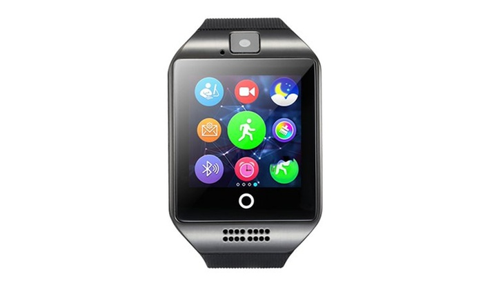 Up To 37% Off on TechComm Q18 Smartwatch Fitne    | Groupon