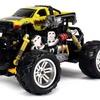 Graffiti Dodge RAM RC Off-Road Monster Truck 1:18 Scale 4 Wheel Drive RTR