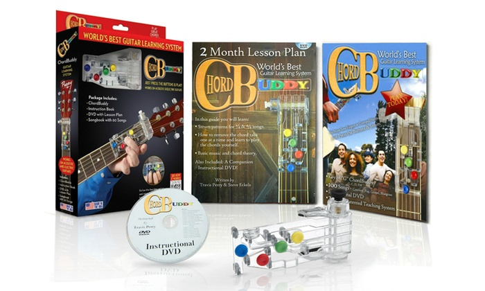 Up To 25 Off On Chordbuddy Guitar Learning Set Groupon Goods