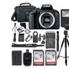 Canon EOS Rebel T7i Digital SLR Camera (Body) plus 2x 32GB SD Memory Card