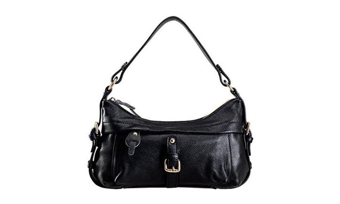 Fashion Western Style Lady Soft Cow Leather Mini Tote Bag Handbag