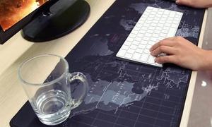 iMounTEK Large Non-Slip Gaming World Map Mouse Pad