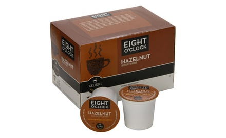 Eight O'Clock Hazelnut K-Cups (Pack of 72)