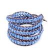 Blue Twist Vintage Bracelet
