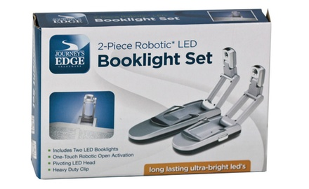 SUPER BRIGHT LED BOOKLIGHT SET (2 PACK)