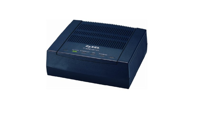 ZyXEL ADSL 2+ Ethernet Router (P660R-F1)
