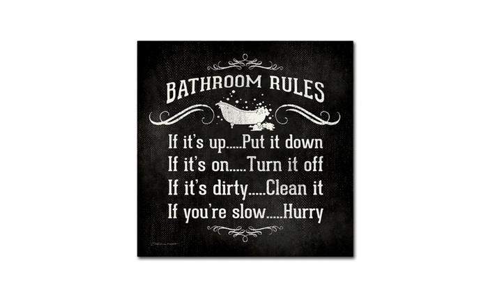 Stephanie Marrott Bath Rules B W