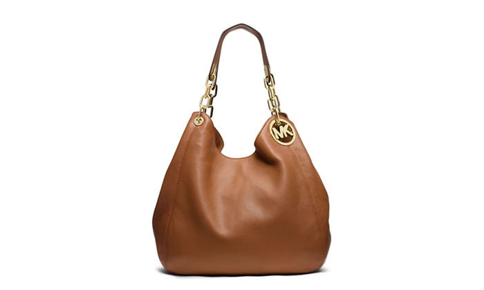 41ae229b07 Michael Kors Fulton Large Leather - Tote - Acorn - 30H3GFTE3L-532 ...