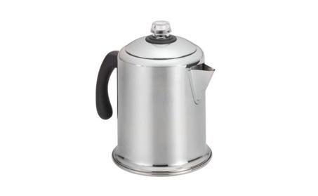 Farberware Classic Stainless Steel Yosemite 8-Cup Coffee Percolator 8a718b82-8f77-4066-90e3-3c61540426ab