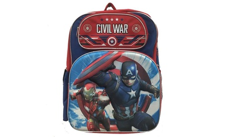 Avengers Captain America Backpacks 4 Styles 89a2a8b7-5519-475c-b27d-261c44e272b1