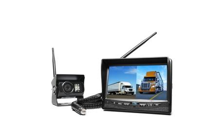 Wireless Backup Camera System, Dual Monitor Cigarette Lighter Adaptor 54d2b2ac-bbf9-48b6-be1a-b98926610521