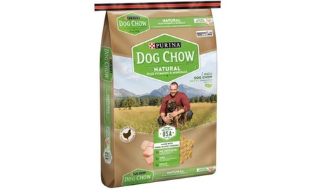 Nestle Purina Petcare 178293 32 lbs Dog Chow Natural Plus Vitamins & Minerals Do