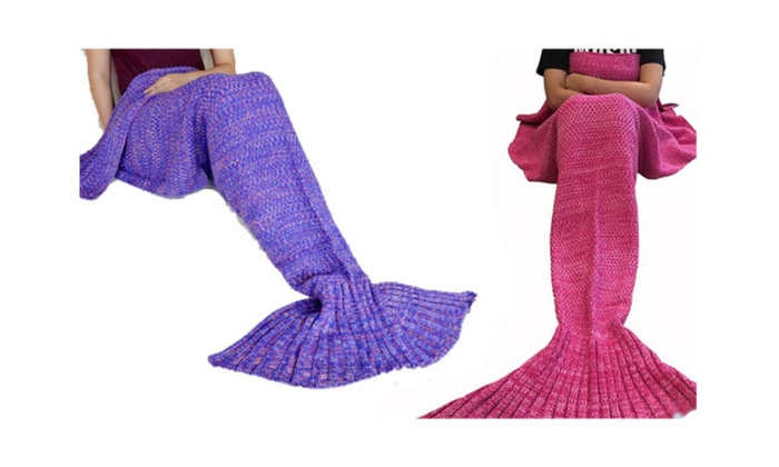 New Model Adult Mermaid Blanket for Women's Soft and Comfy Design