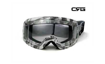 CRG Motocross ATV DIRT BIKE OFF ROAD RACING GOGGLES Adult T815-27-4