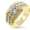 J Goodin Cubic Zirconia Sunrise Ring