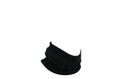 Zan Headgear Neck Gaiter Microfleece Black 518db1c4-d400-449e-b2bb-3fdf21e1d6fa