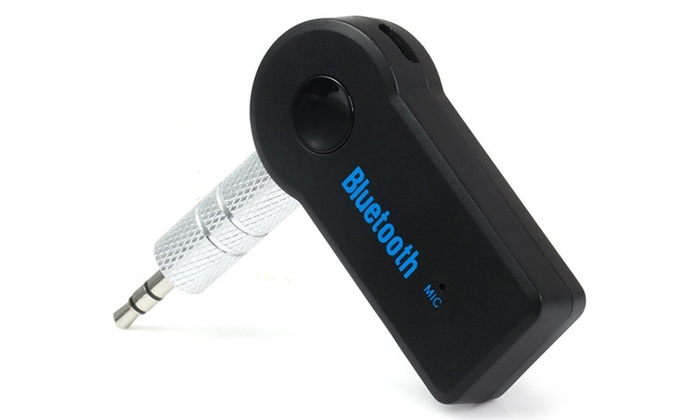 Bluetooth Car Kit Handsfree 3.5mm Car AUX Audio Music Receiver Adapter