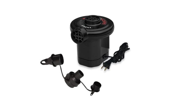 Intex Quick-Fill AC Electric Air Pump 110-120 VoltMax Air Flow 21.2CFM