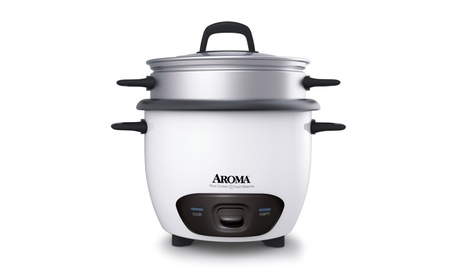 Aroma ARC7431NG 6 Cup Rice Cooker & Food Steamer 0cb5ba9d-bb17-4451-8738-14d7eb2598b2