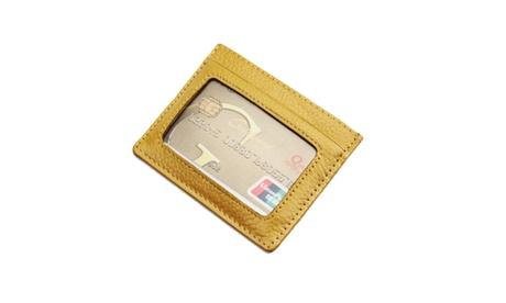 Skinny Mini Rfid Safe Universal Minimal Wallet