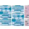 Set of 8  Russbe Snack and Sandwich Bags  - City and Clouds Patterns