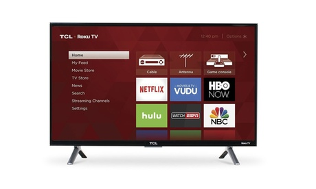 TCL 28-Inch 720p Roku Smart LED TV (2017 Model)